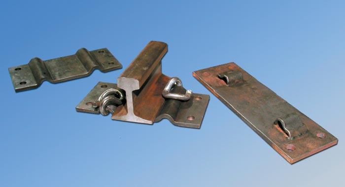 Rail base plates matthew brown blacksmiths ltd